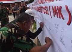 Forkopimda dan Ribuan Warga Sidrap Deklarasi Tolak Aksi Kerusuhan
