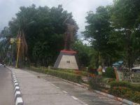 Tak Terawat dan Tanpa Penerang, Begini Kondisi Patung Pahlawan Nasional dan Mantan Kepala Afdeling di Kota ini