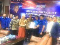 Ikhsan Yasin Limpo Terima Rekomendasi Partai Demokrat