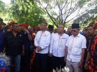 Ribuan Massa Pendukung FAS, Iringi ke Kantor KPU