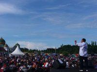 Sebelum Daftar ke KPU, Deklarasi Patah – Emmy , Dihadiri Ribuan Massa