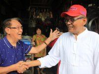 Jumat, FAS Blusukan Teriakan 'Sibawaki' Menggema di Pasar Lakessi