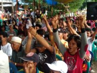 Warga Padati Kampanye TP di Bukit Harapan