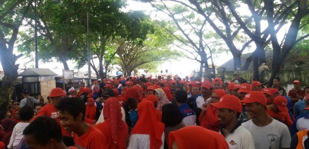 Kampanye FAS Membludak, Pesisir Pantai CempaE Memerah