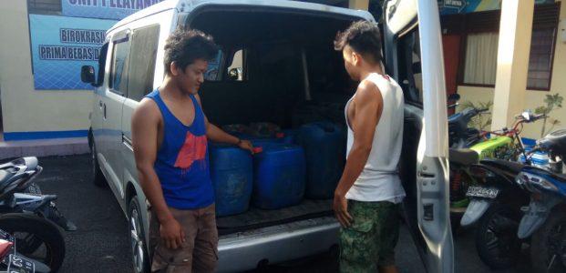 """Dianggap Pemicu Kamtibmas, Polisi Amankan Ratusan Liter """"Ballo"""""""