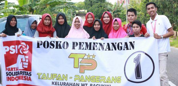 Kumpul Ratusan Relawan, PSI Perbanyak Posko untuk TP