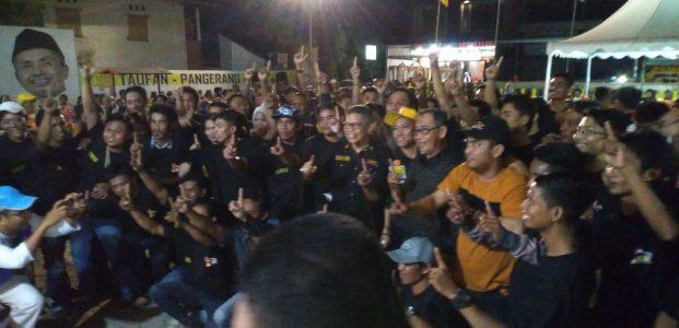 Tiga Komunitas Kompak Bergabung Di TP-Pangerang