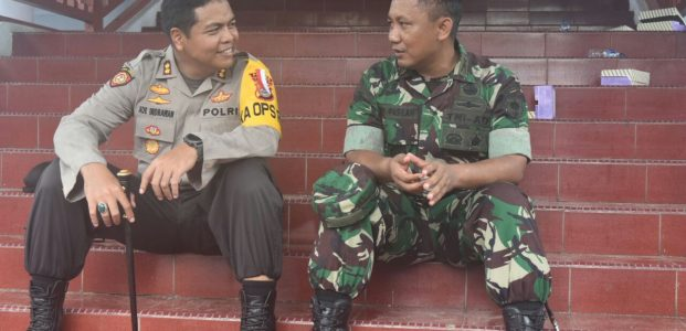 Pimpin Upacara Integrasi, Kapolres Sidrap Ingatkan Bahaya HOAX