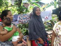 Kisah Mira Selamatkan Bayi dan Anaknya Dari Angin Puting Beliung.