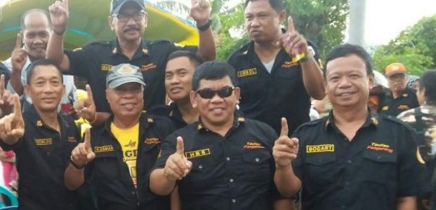 Loyalis TP The Special One, Satu Komando Kawal Sidang di Bawaslu