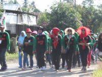 Peringati Mey Day, Buruh di Luwu Gelar Jalan Santai