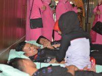 Sambut HUT Bhayangkara 72, Polres Sidrap Gelar Donor Darah