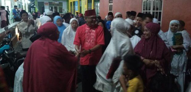 Tarwih Pertama FAS di Mesjid Tarbiyah Muhammadiyah
