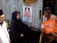 Erna Taufan Semangati Warga Miskin untuk Pantang Menyerah