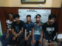 Diburu 2 Hari, 5 Pencuri Sapi Ternak Ditangkap