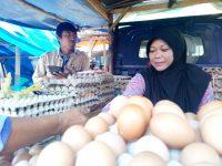 Harga Telur Ayam Masih Mahal