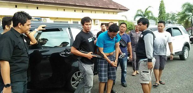 Polres Pinrang, Amankan Kurir Narkoba Lintas Daerah
