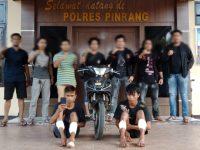 Jadi Pelaku Jambret, Dua Remaja Digelandang ke Polres Pinrang