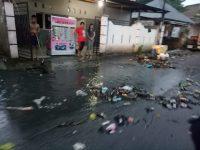 Hujan Sebentar Saja, Sejumlah Ruas Jalan di Kota Sanitasi Banjir dan Tergenang
