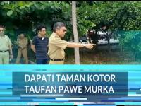 Video : Dapati Taman Matras Kotor Wali Kota Marahi Pajabat Terkait
