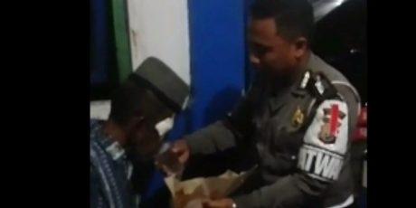 Cerita Anggota Sat Lantas Polres Barru Diajak Makan Kapolri